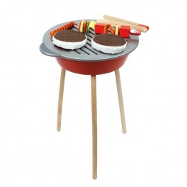 Wooden Barbecue